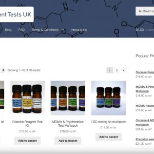 Reagent Test Kits UK
